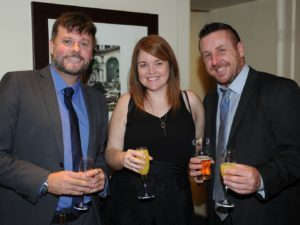 Ben Soothhill, Louise Jackson Paul Cooper from Anexsys, Manchester