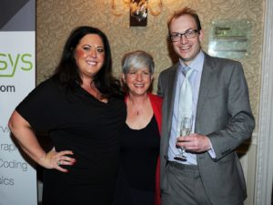 Sam Hillas of the Supreme Court, Alison Barnet of Blackstones Solicitors , and Sam Kendrick from Anexsys