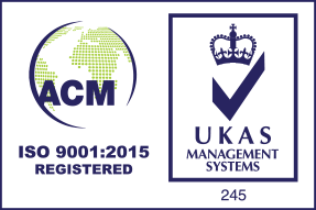 Credential logo - 9001 ACM UKAS Logo