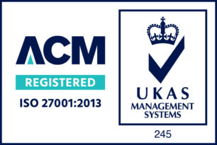 Credential logo - 27001-ACM-UKAS-Colour